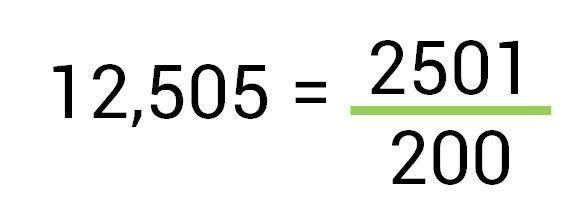 decimal para fração