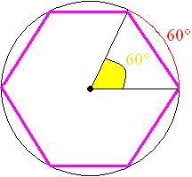 exemplo de hexágono