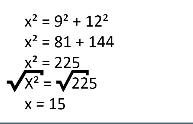 exemplo raiz quadrada