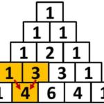 exemplo triângulo de pascal